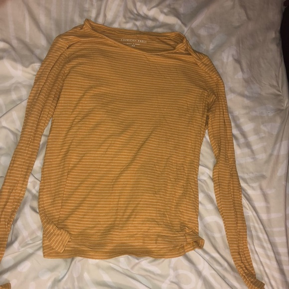 American Eagle Outfitters Sweaters - Large Mustard Yellow American Eagle Sweater